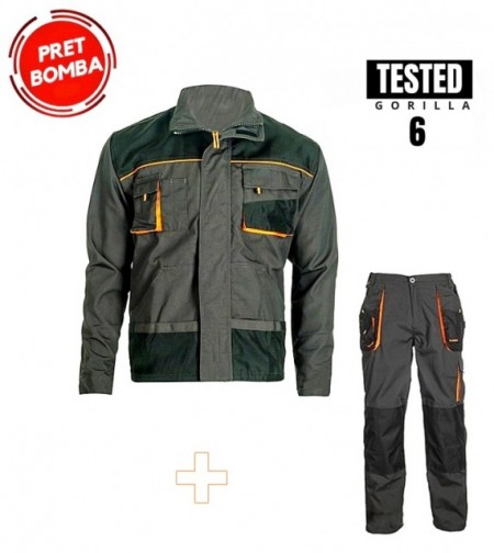 Oferta calitate Strong costum pantalon talie cu jacheta