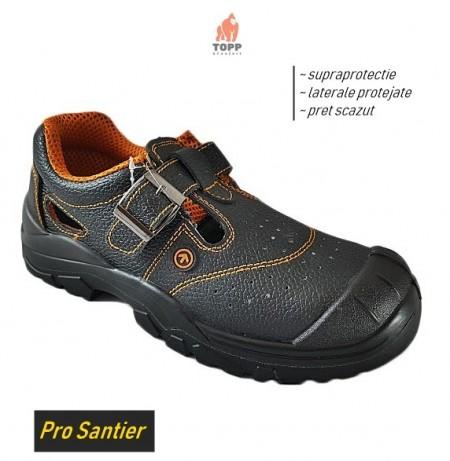 Pentru santier sandale de lucru cu protectie bombeu IMPACT