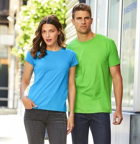 Tricouri de vara foarte subtiri bumbac Gildan