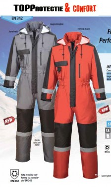 Combinezon matlasat impermeabil de iarna -20 grade