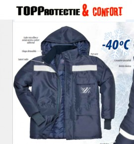 Jacheta de protectie pentru vreme rece pana la -40 grade C