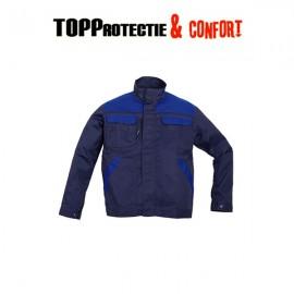 Jacheta lucru bumbac 100% cu design modern COMMANDER
