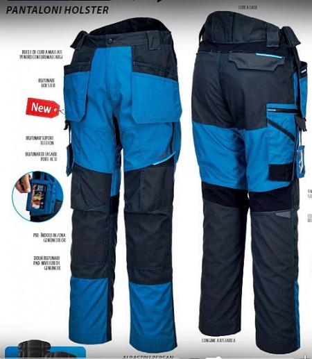 Pantaloni de lucru profesionali Holster flexibili tip dulgher