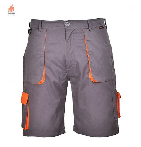 Pantaloni de lucru scurti Texo Contrast confortabili