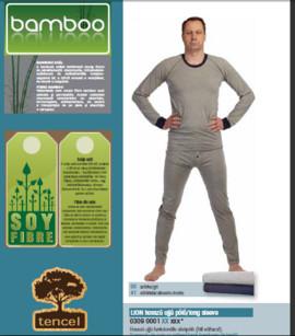 Pantaloni lungi Underwear gri bambus