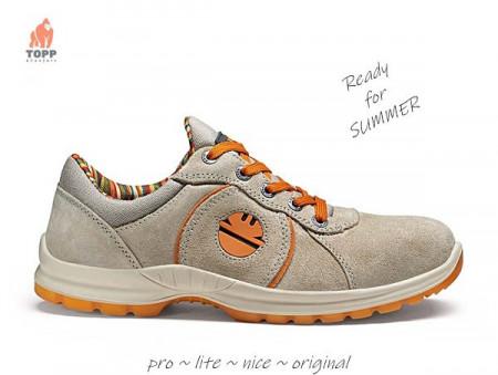 Pantofi protectie de vara Dike Advance Gri