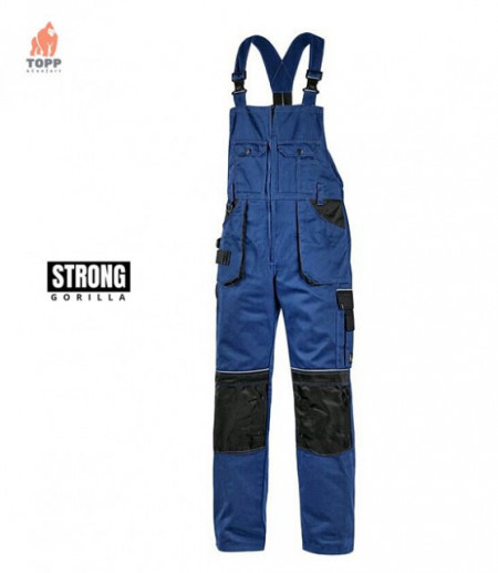 Salopeta de lucru tercot Strong albastru