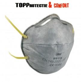 Semimasca de protectie FFP1 NR D cu carbune activ,fara supapa - PRET 20BUC
