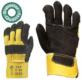 Manusi de Protectie piele negre 158