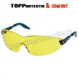Ochelari protectie 3M 2740 lentila galbena transparent inchisa, UV