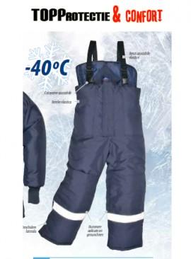 Pantaloni protectie impotiva frigului, pana la -40 grade LICHIDARE XL