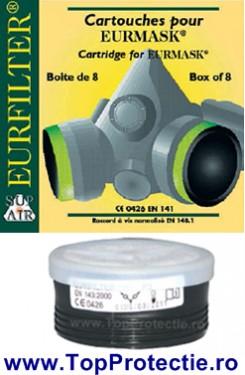 Filtru pentru semimasca SupAir P2 22140 Euromask - Particule - Praf