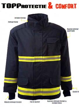 Jacheta de protectie pentru pompieri model 4000