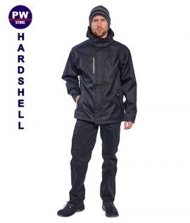 Jacheta neagra impermeabila Outdoor Hardshell