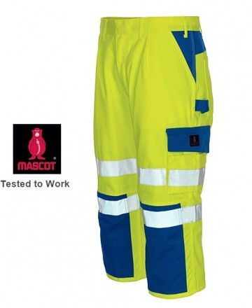Lichidare pantaloni scurti de lucru - salopeta reflectorizanta