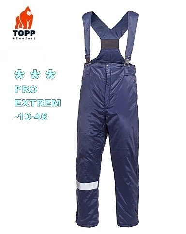 Salopeta de iarna pantaloni Echipamente protectie Frig - 40
