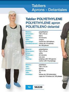 Sort unica folosinta Polietilena 56220