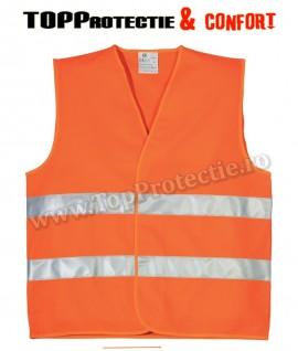 Vesta reflectorizanta orange-fluo