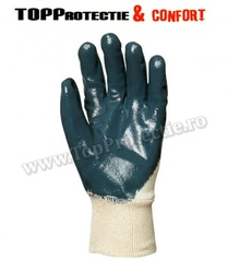 Manusi de protectie imersate in nitril pentru utilizare universala