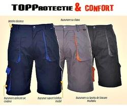 Pantaloni de lucru scurti Texo Contrast, confortabili