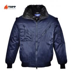 Jacheta de iarna pilot bleumarin