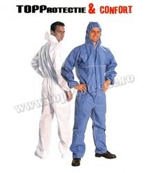Combinezon de protecție împotriva pulberilor și particulelor radioactive