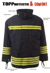 Jacheta protectie pentru pompieri, rezistenta la caldura model 3000