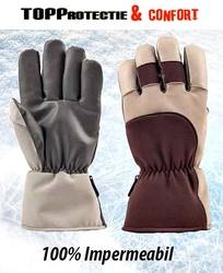 Manusi de iarna 100% impermeabile protectie frig