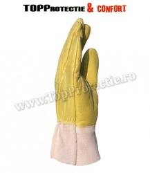 Mănuși de protecție antivibraţii,din piele integrala de bovina,rezistenta