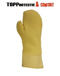 Manusi protectie termorezistente,groase,rezistente la taiere,varianta cu un deget