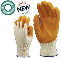 Manusi protectie textil dublu Latex condensat