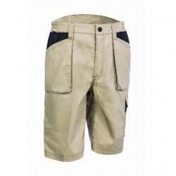 Pantaloni de lucru bermude bej