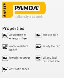 Pantofi lucru Panda Strong S3