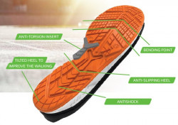 Pantofi protectie usori rezistenti 3RUN Colour