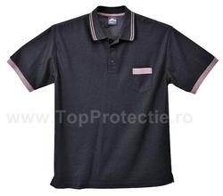 Tricou Polo design Texo Service Auto negru/gri