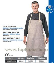 Sort de protectie din piele pentru sudori 60X90 cm