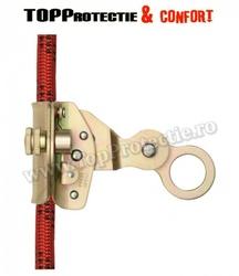 Opritor de cadere pentru franghie flexibilă Ø 14 mm, varianta cu deschidere