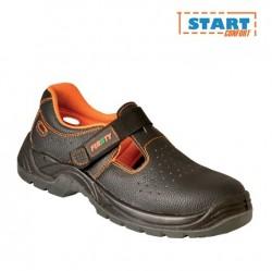 Sandale cu protectie bombeu si talpa S1P vara