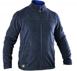Jacheta fleece foarte subtire de primavara barbati