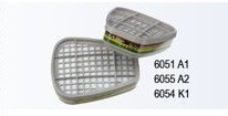 Filtre 3M protectie gaze 6055 A2 - STOC EPUIZAT