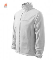 Jacheta calduroasa fleece alb
