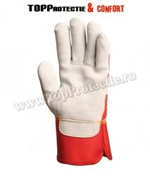 Manusi de protectie din piele spalt bovina,rezistenta,grosime 1.2mm