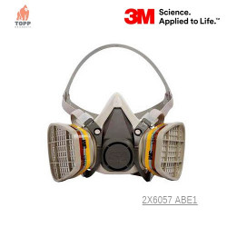 Masca protectie agricultura, domeniu sanitar, veterinar 3M 6200