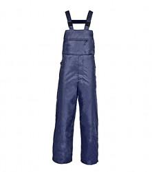 Pantaloni cu pieptar din poliester hidrofobizat cu PVC