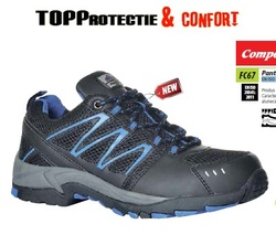Pantofi cu protectie compositelite Vistula S1P, rezistenti la alunecare