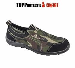 Pantofi de primavara MIAMI CAMO camuflaj cu bombeu