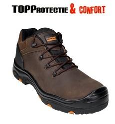 Pantofi din piele maro protectie Completa New S3 Topaz