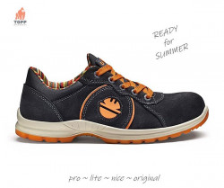 Pantofi protectie de vara Dike Advance Black