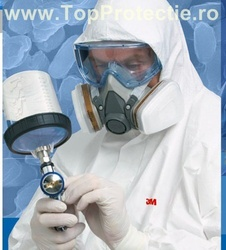Semi-masca protectie 3M-6200 set cu filtre 3M-6059 + ochelari 3M