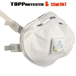 Semi masca protectie 3M FFP2 R D cu supapa - Reutilizabila